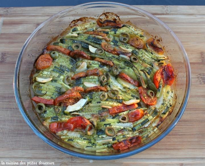 Tian de légumes à mafaçon