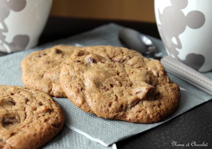 Cookies aux pépites dechocolat
