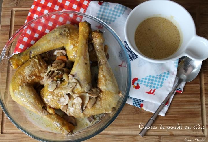 Cuisses de poulet aucidre