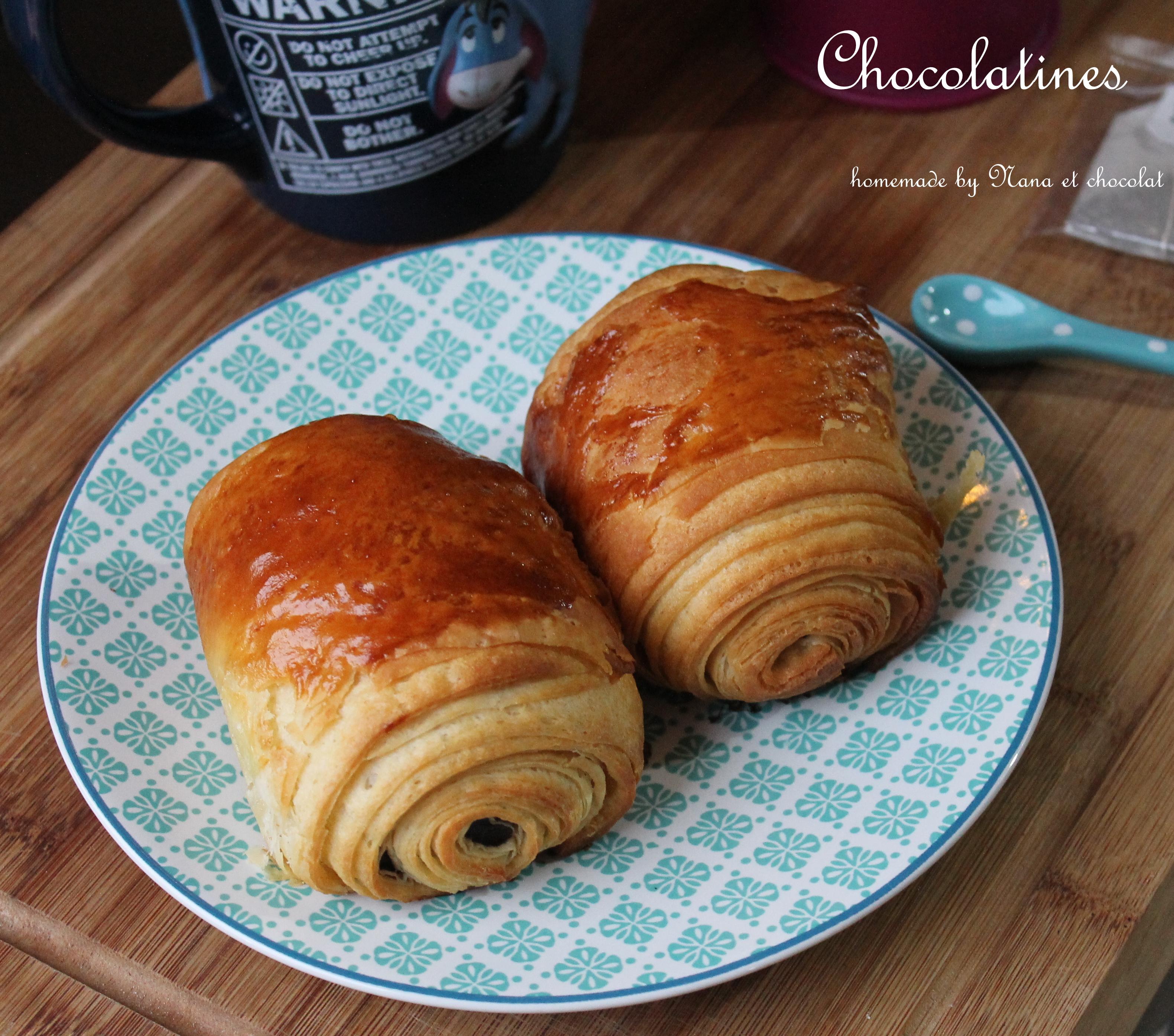 Pains Au Chocolat Ou Chocolatines Comme Chez Le Boulanger Nana Et