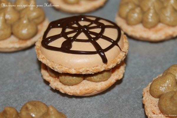 Macarons spécial Halloween