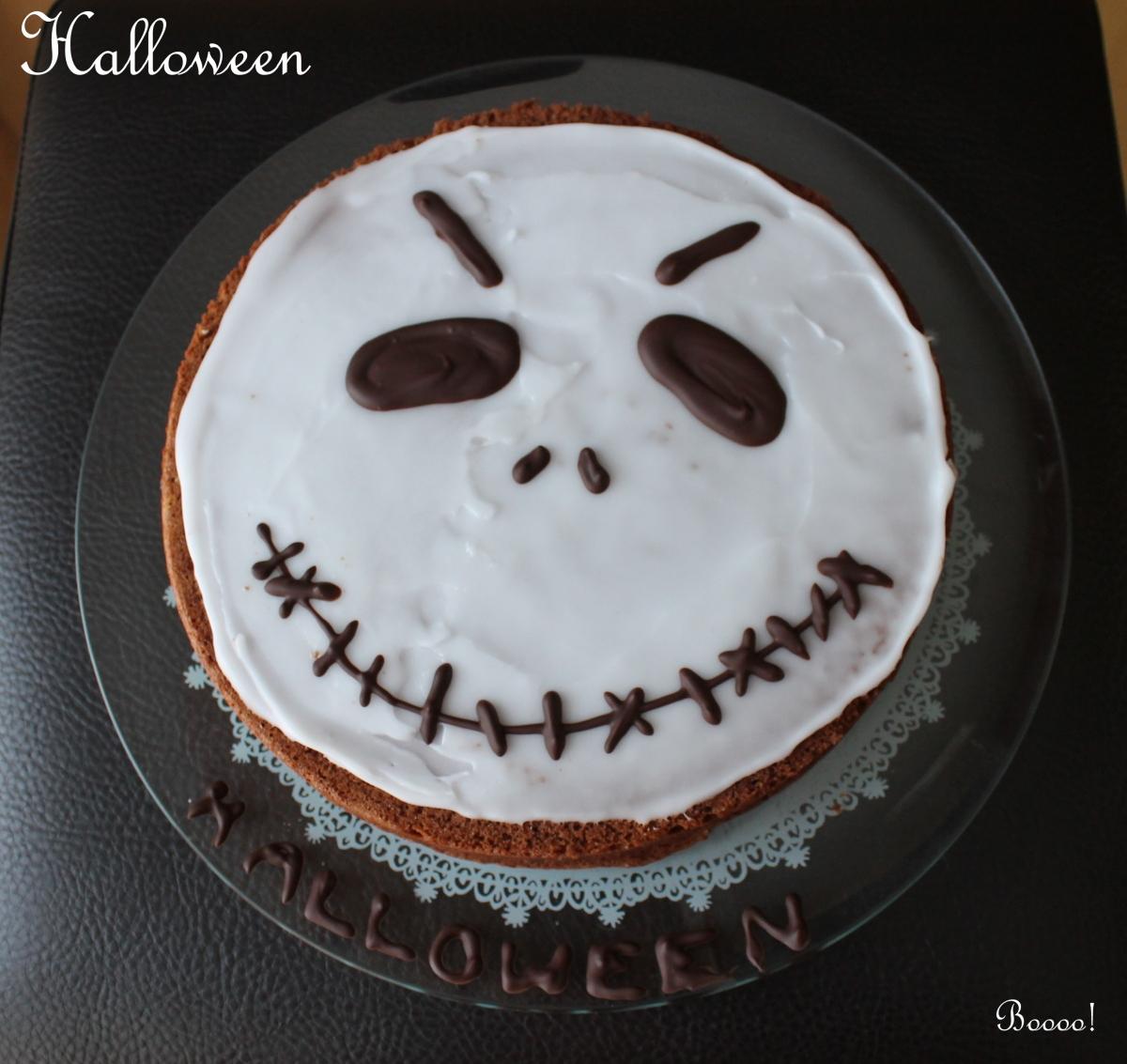 Gâteau au chocolat moelleux et facile pour halloween!