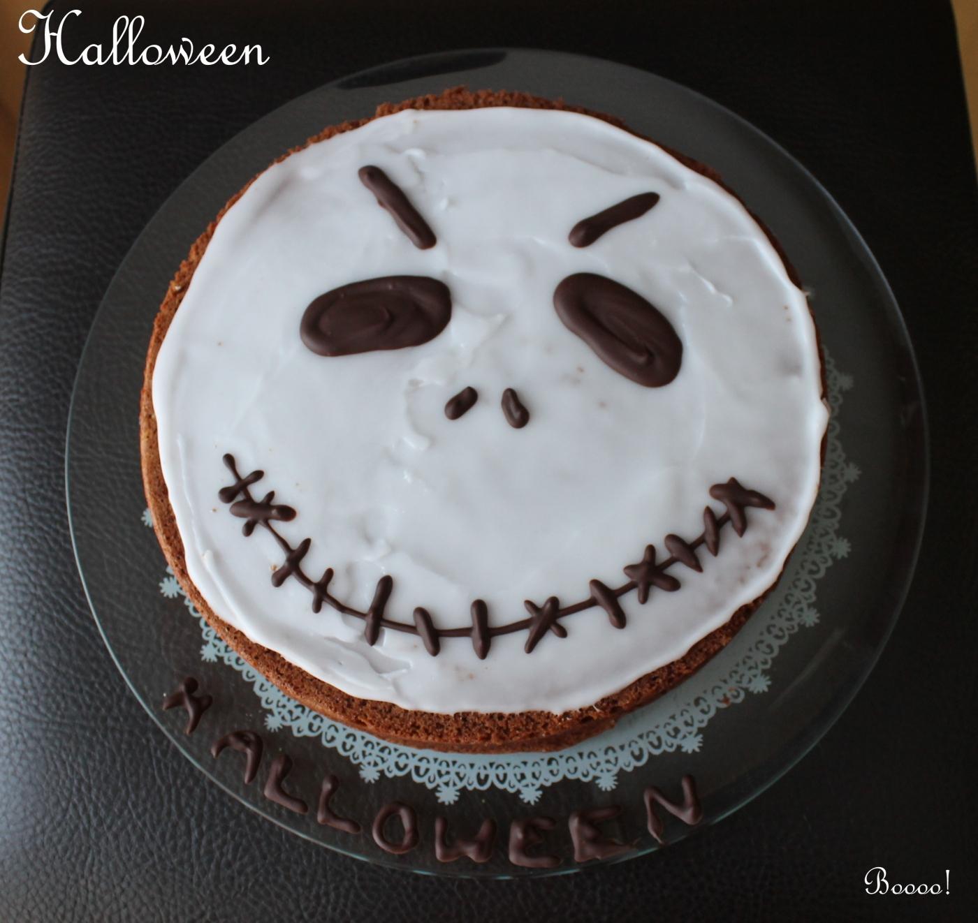 G teau au chocolat moelleux et facile pour halloween nana et chocolat - Gateau d halloween facile a faire ...