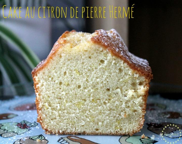 LE Cake au citron…de PierreHermé