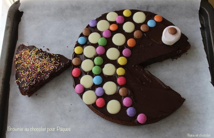 Brownie au chocolat pour Pâques ( avec ou sansthermomix)