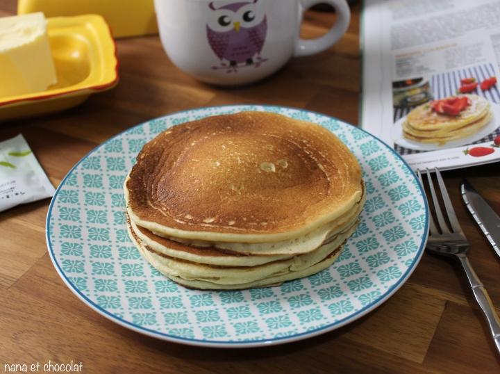 Pancakes à la ricotta ( terriblementbons)