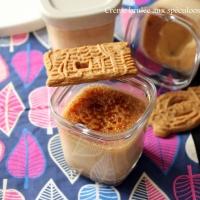 Crèmes brûlées aux Spéculoos ( avec ou sans la Multi délices)