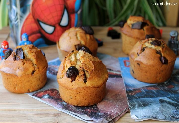 Muffins américains ( un goûter facile et rapide pour lesloulous)