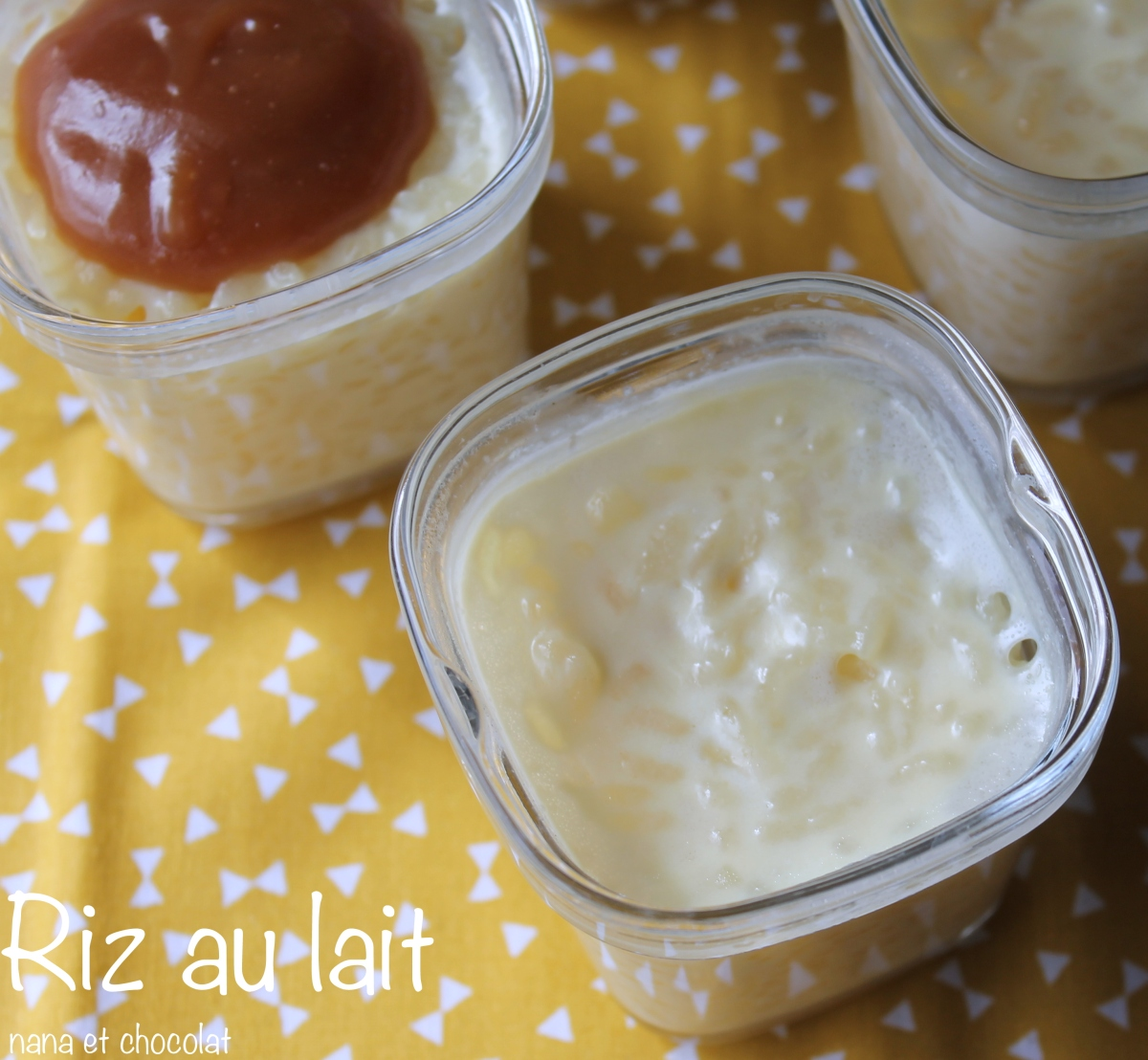 Riz au lait dans la Multi Délices ( et son caramel crémeux)