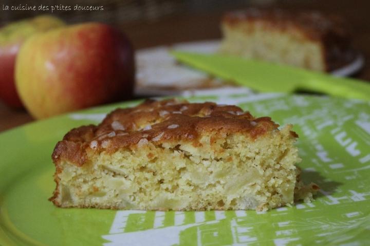 Gâteau madeleine auxpommes