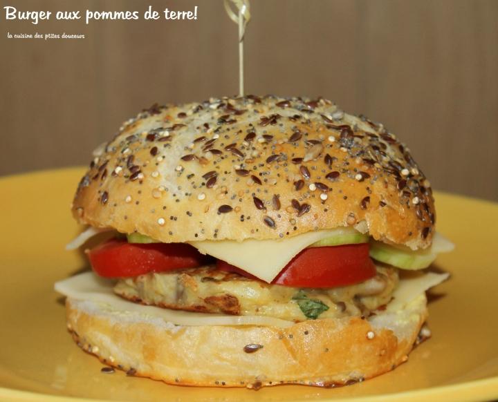 Buns à la pomme de terre ( pains à hamburger)