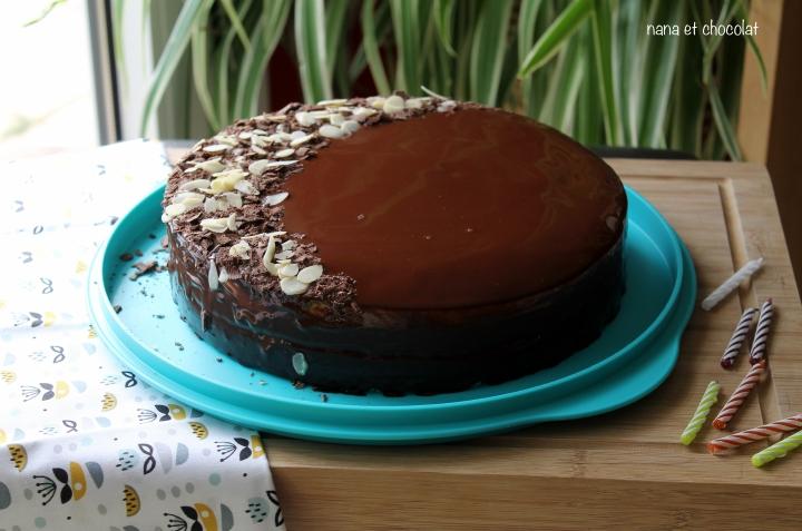 Entremets chocolat etpraliné