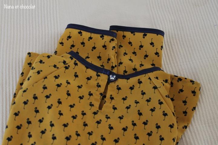 Ma blouse Stockholm ( Atelier Scammit), projet couture de Mars2017