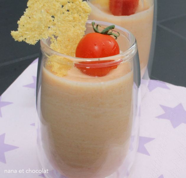 mousse tomates