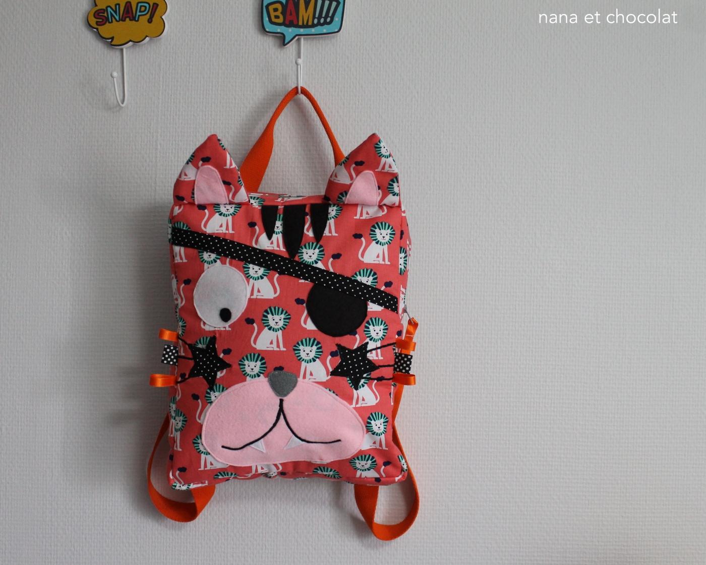 sac à dos chat 5