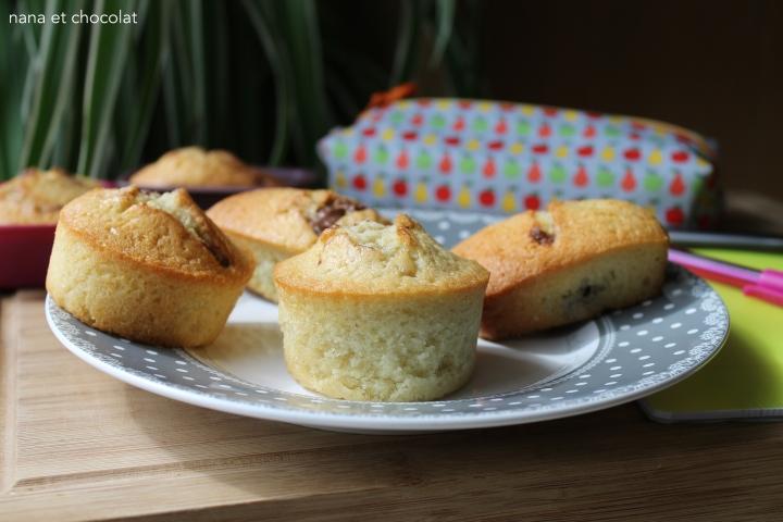 Muffins fondants mousseux au coeur de Chocolat 🍫 ( au thermomix ou pas)
