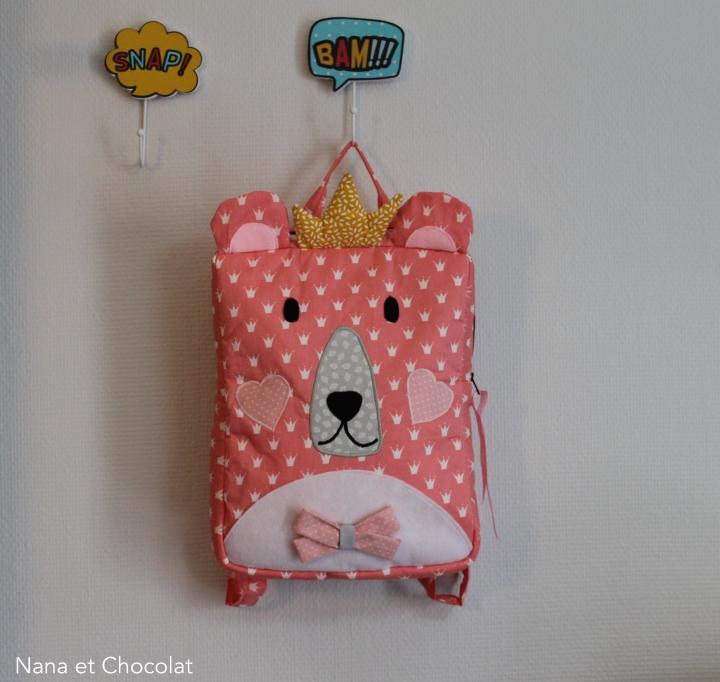 Le sac à dos «Ours polaire» pour petitesPrincesses