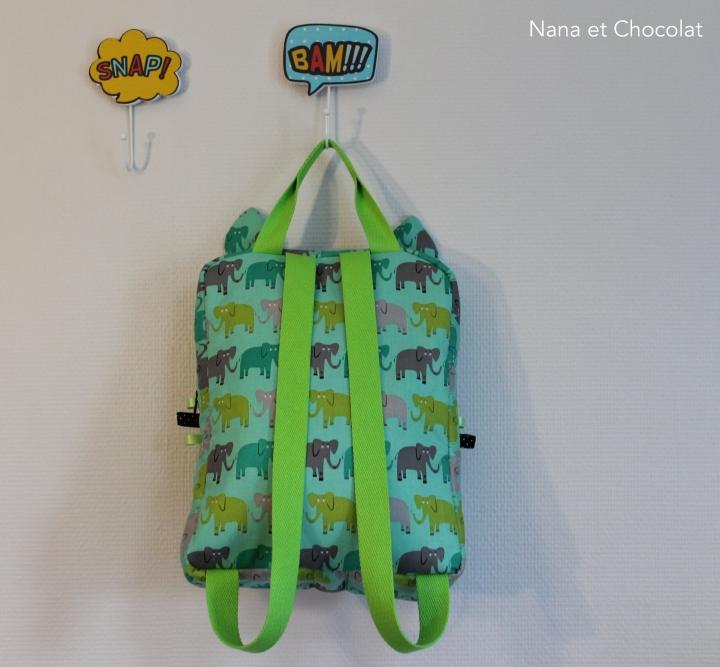 sac chat vert 4