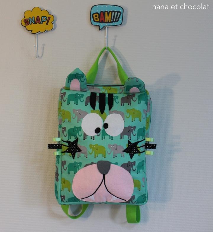 sac chat vert1