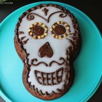 Gâteau au chocolat ( rapide) au Thermomix pour Halloween 🎃
