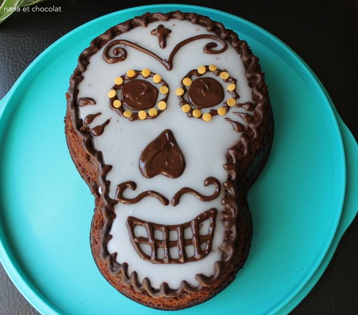 Gâteau au chocolat ( rapide) au Thermomix pour Halloween🎃
