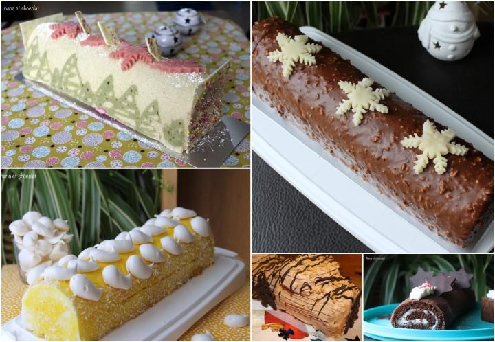 Bûches et desserts deNoël