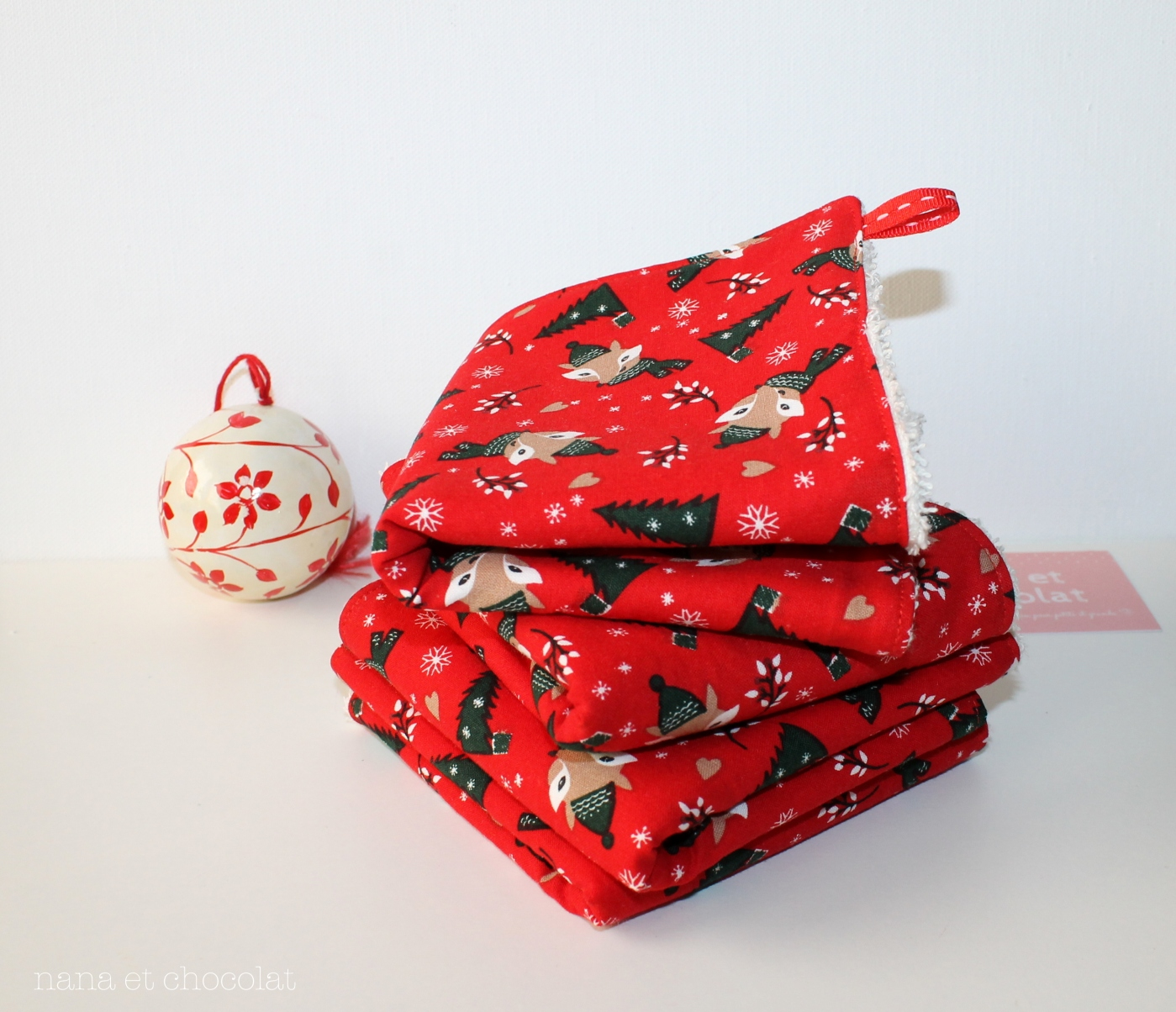 serviette noel 2