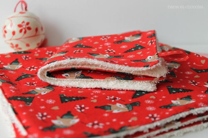 serviette noel 4