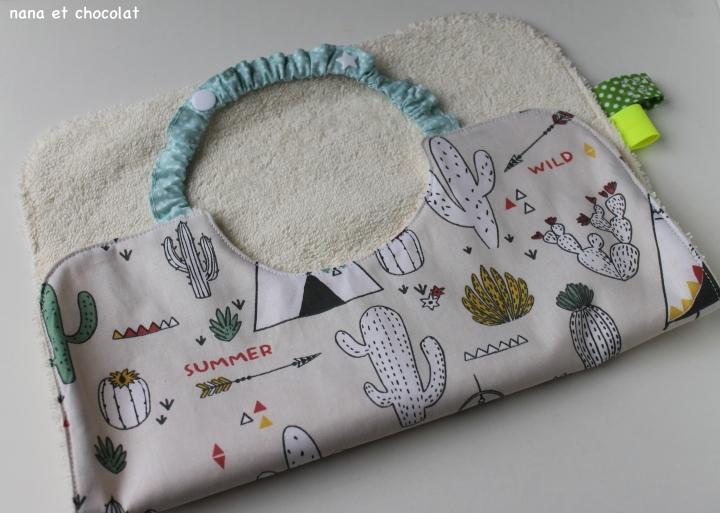 bavoir cactus 5