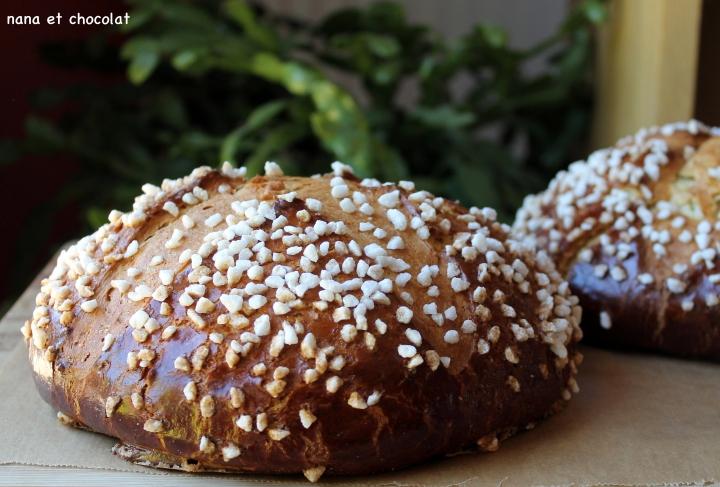 La Mouna, Brioche de Pâques auxagrumes