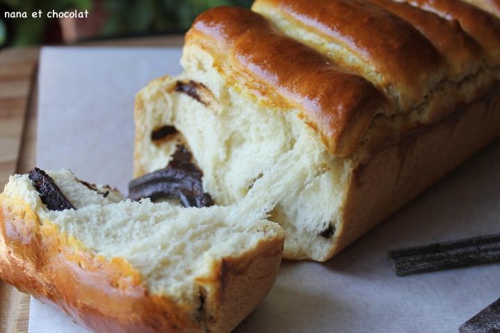 La brioche ( comme un pain au chocolat) de la LigneGourmande