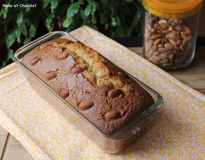 Cake au yaourt et auxamandes