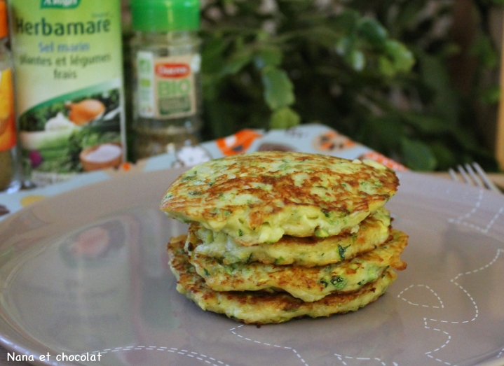 galettes courgettes