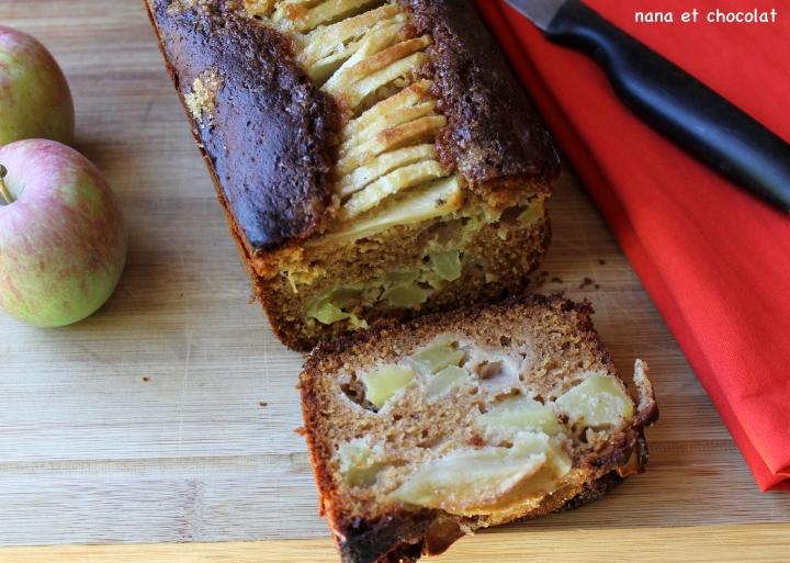 pain d'épices aux pommes 4