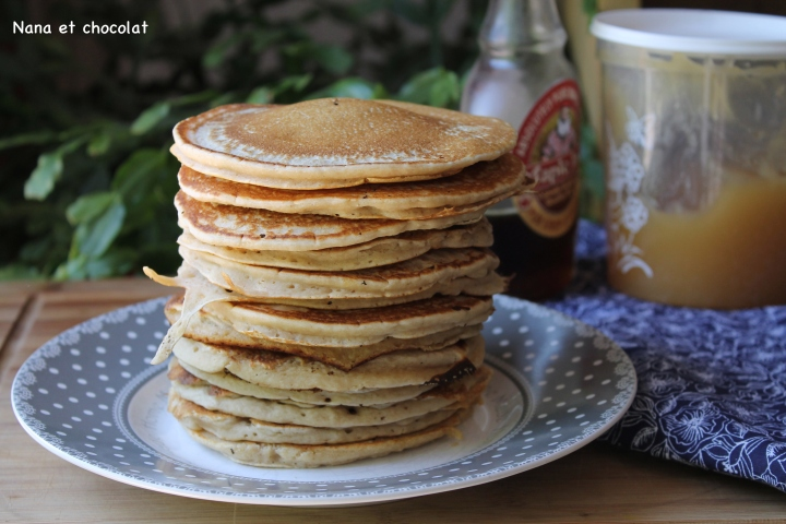 pancakes compote