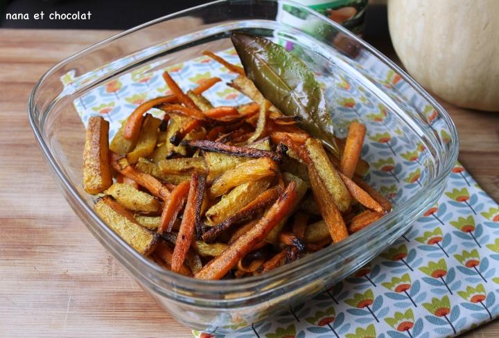 Frites de légumes aufour