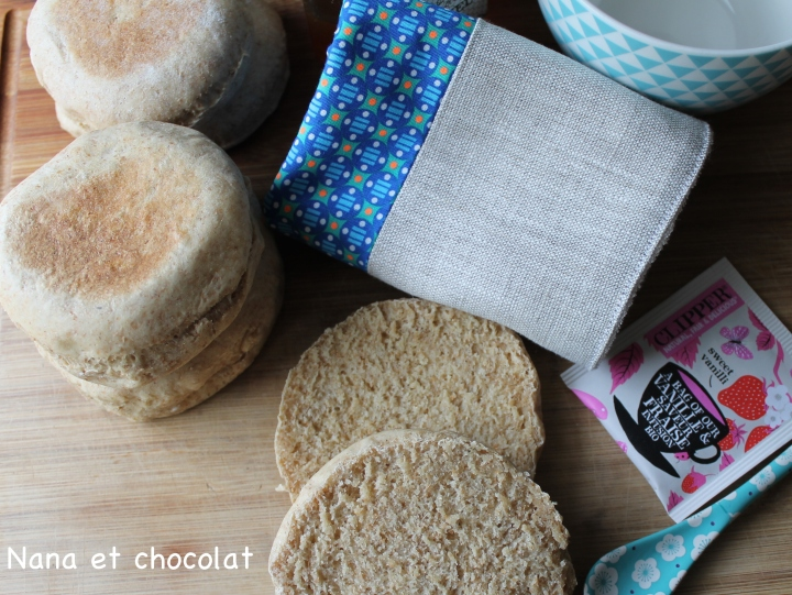 Muffins anglais auThermomix