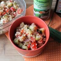 Salade de quinoa aux légumes grillés