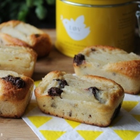 2 recettes  gourmandes et sans beurre pour le goûter ( financier aux poires et financier aux framboises )