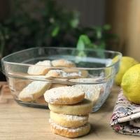 Biscuits sablés au citron de Martha Stewart ( sans œufs)