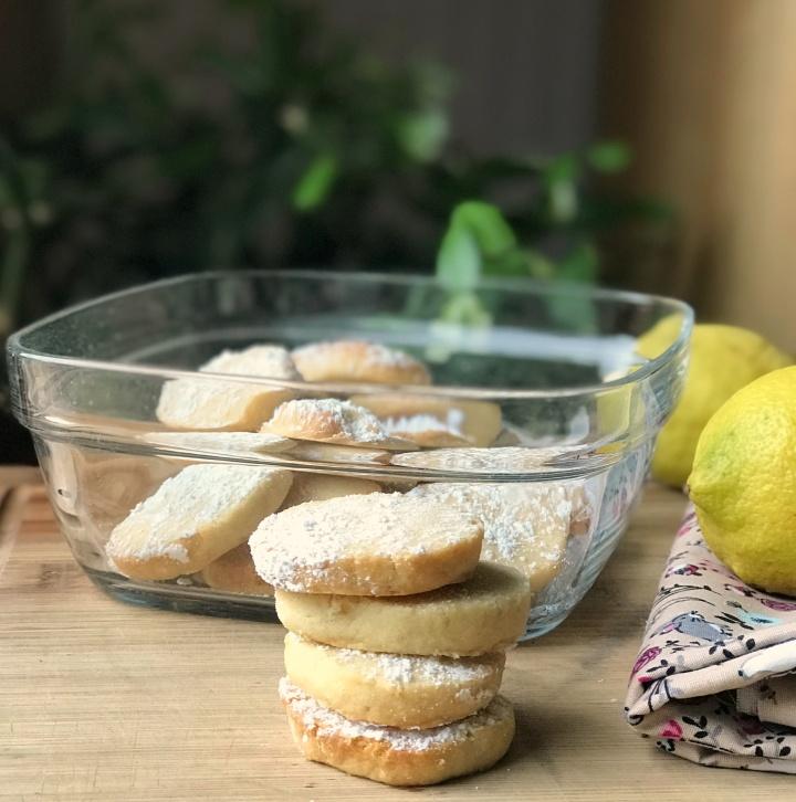 Biscuits sablés au citron de Martha Stewart ( sansœufs)