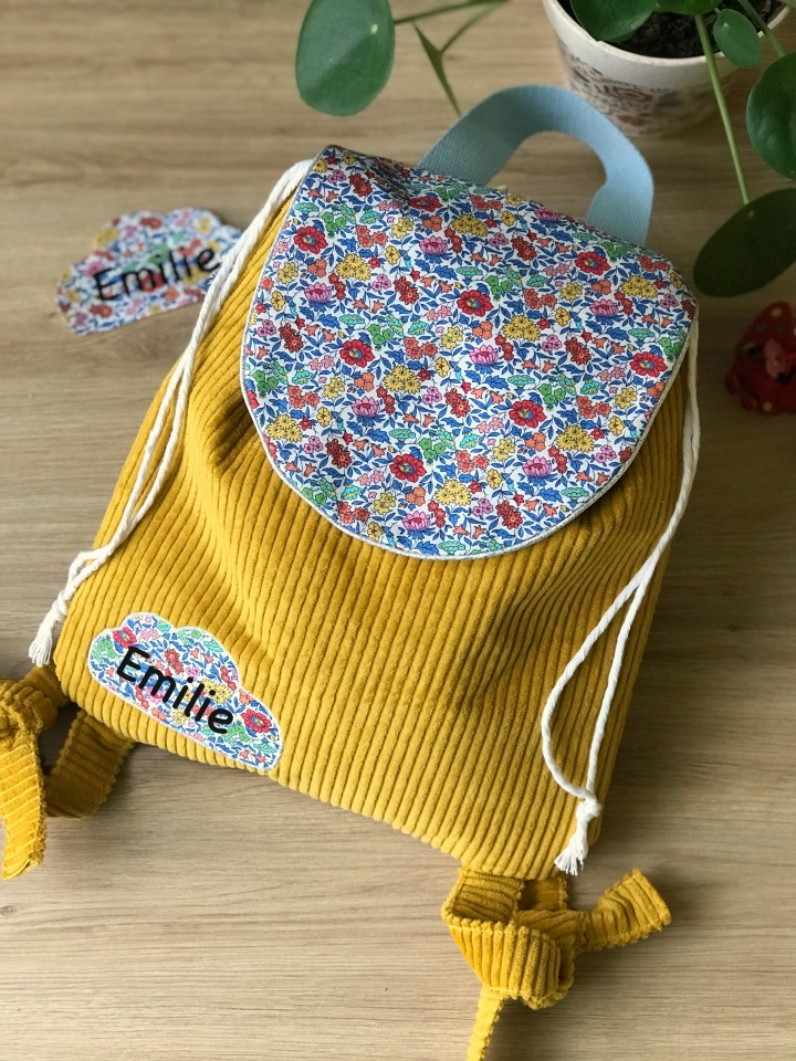 Je couds des sacs à dos pour les petits  ( Nouveauxmodèles)