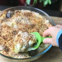 Gratin de poireaux et de pommes de terre (fondant gourmand ;) )