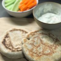 Naans au fromage ( pains indiens )