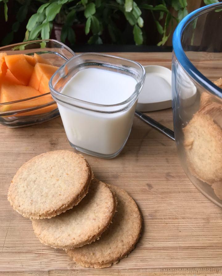 Biscuits sablés à la noix decoco